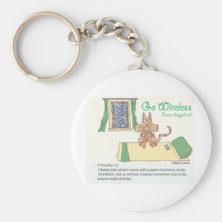 Prayer, Never a Dropped Call Keychain