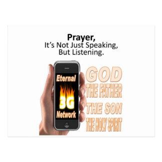 Prayer: Not just speaking, but listening Postcard