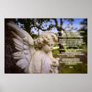 Prayer of an Alzheimer s Sufferer poster