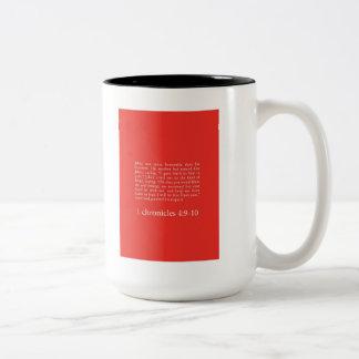 """Prayer Of Jabez"" Coffee Mugs"