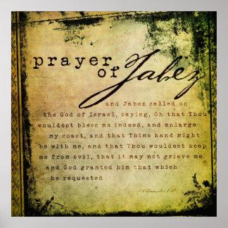 Prayer of Jabez Print