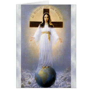Prayer of Our Lady of all Nations Card