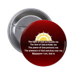 Prayer of Protection 2 Inch Round Button