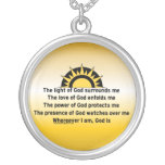 Prayer of Protection Custom Necklace