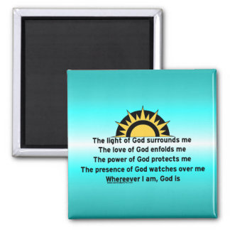 Prayer of Protection Magnet