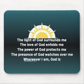 Prayer of Protection Mouse Pad