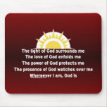 Prayer of Protection Mouse Pads