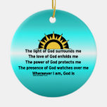Prayer of Protection Ornament