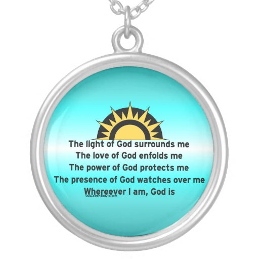 Prayer of Protection Pendants