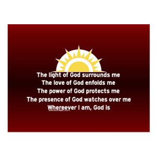 Prayer of Protection Postcard