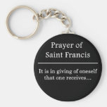 Prayer of Saint Francis Key Chain