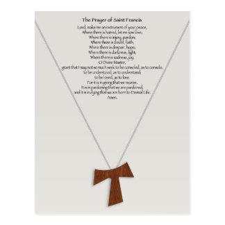 Prayer of Saint Francis Post Card