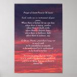 Prayer of Saint Francis Poster