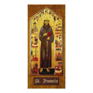 Prayer of St. Francis of Assisi Rack Card