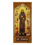 Prayer of St. Francis of Assisi Rack Card Template