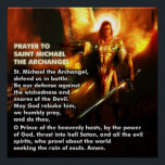 "Prayer of St. Michael Poster<br><div class=""desc"">I have always loved this prayer.</div>"