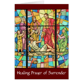 Prayer of Surrender Card
