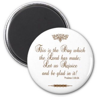 Prayer of Thanks for Victory Custom Magnet