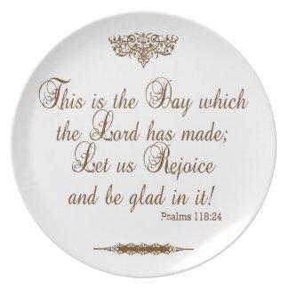 Prayer of Thanks for Victory Custom Plate