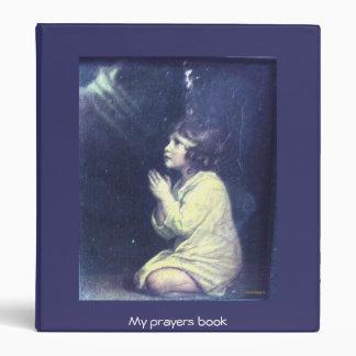 Prayer of the day vinyl binder