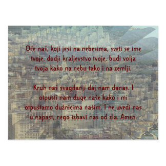 Prayer Over de señor la ciudad de ángeles Tarjeta Postal