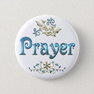 PRAYER PINBACK BUTTON