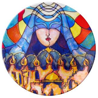 Prayer – Porcelain Plate