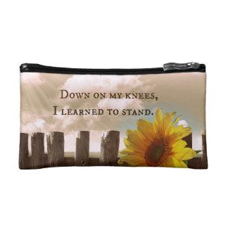 Prayer Quote Makeup Bag