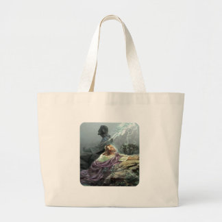 PRAYER ROCK LARGE TOTE BAG