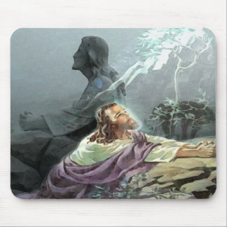 PRAYER ROCK MOUSE PAD