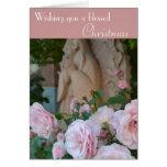 Prayer Roses Blessed Christmas Card