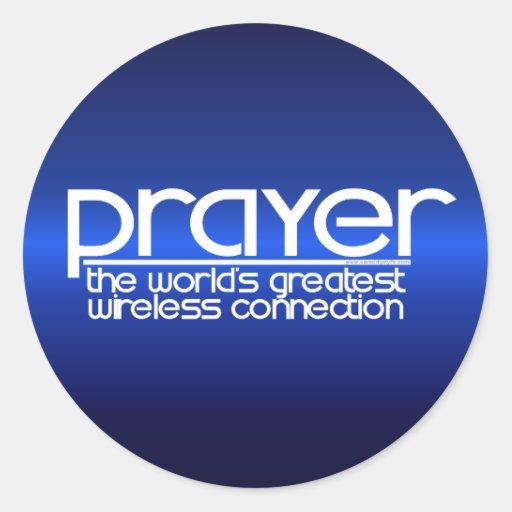 PRAYER ROUND STICKERS