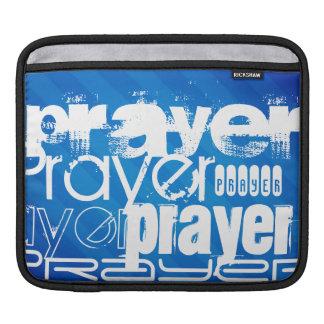 Prayer; Royal Blue Stripes iPad Sleeves