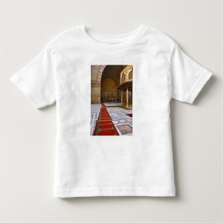 Prayer rugs leading into Islamic mosque, Cairo, Toddler T-shirt