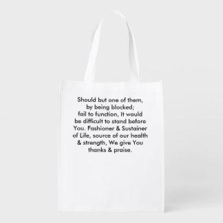 Prayer Rx Tote Bag- Lower Cholesterol