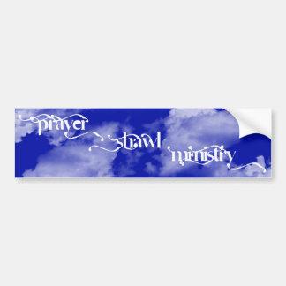Prayer Shaw Ministry Bumper Sticker