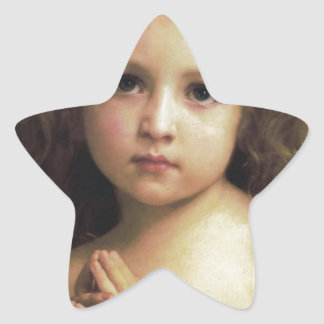 Prayer Star Sticker