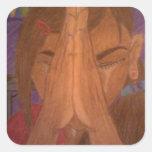 prayer sticker