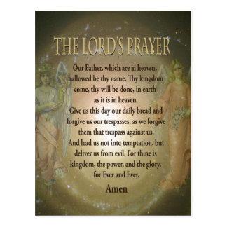 Prayer - The Lord s Prayer Postcard