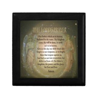 Prayer - The Lord's Prayer Jewelry Box