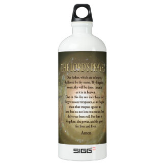 Prayer - The Lord's Prayer SIGG Traveler 1.0L Water Bottle