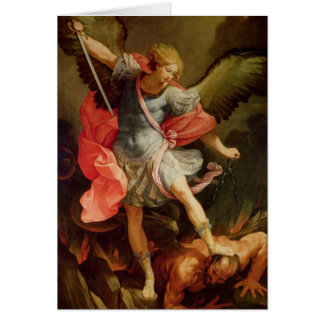 Prayer to Saint Michael Card