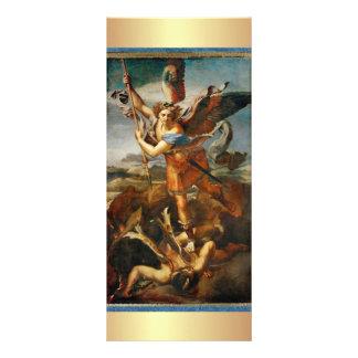 Prayer to Saint Michael the Archangel Custom Rack Card