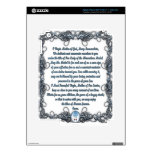 Prayer to the Miraculous Medal Decal For iPad 3