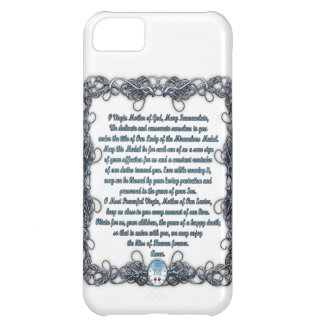 Prayer to the Miraculous Medal iPhone 5C Cover