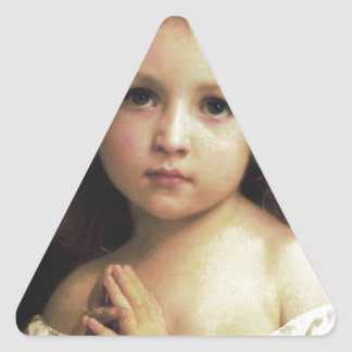 Prayer Triangle Sticker