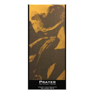 """Prayer"" Value Bookmark Custom Rack Cards"