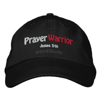 Prayer Warrior gotGod316.com Embroidered Baseball Cap