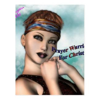 prayer_warrior postcard