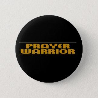 Prayer Warrior Products Pinback Button